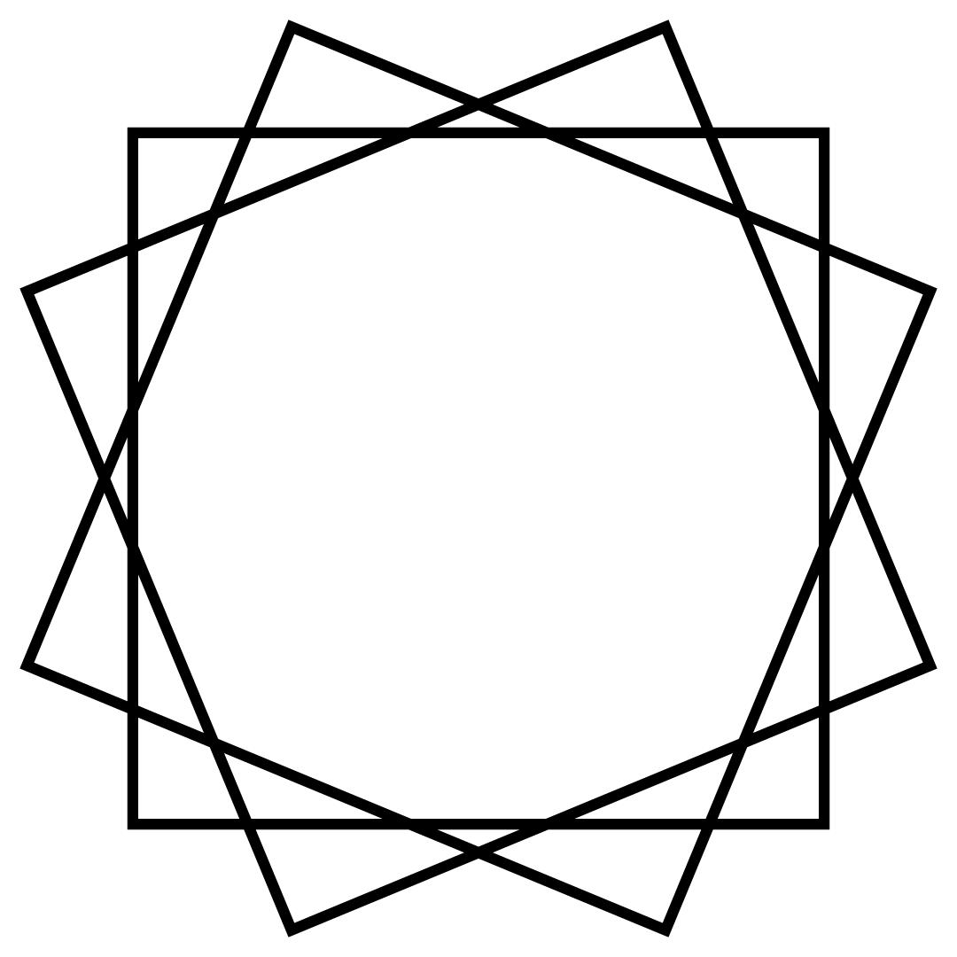 Square Monogram Frame Free SVG Files