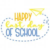 Happy Last Day Of School Free SVG Files