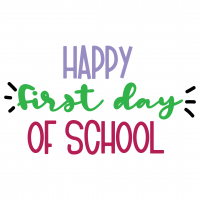 Happy First Day Of School Free SVG Files