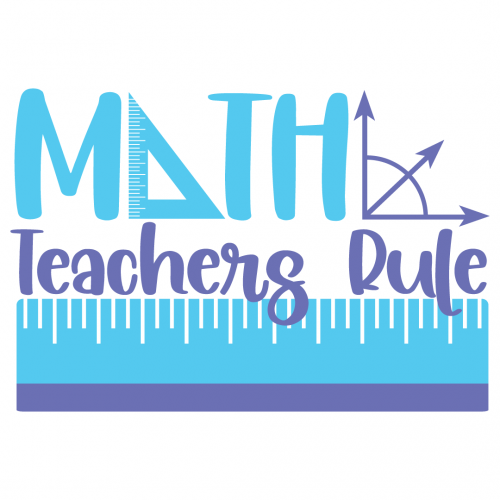 Math Teachers Rule Free SVG Files