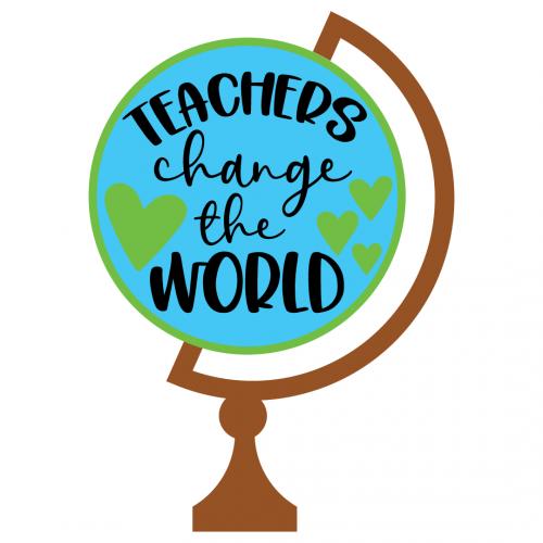 Teachers Change The World Free SVG Files