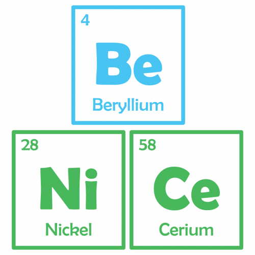 Science Be Nice Periodic Table Elements Free SVG Files