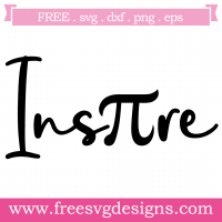 Math Inspire Pi Free SVG Files