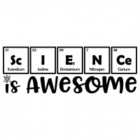 Science Is Awesome Periodic Table Elements Free SVG Files