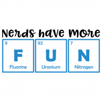 Science Nerds Have More Fun Periodic Table Elements Free SVG Files