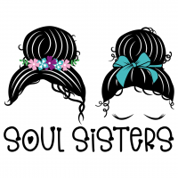 Mom Bun Soul Sisters Free SVG Files