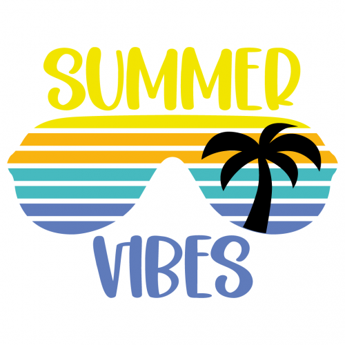 Summer Vibes Free SVG Files