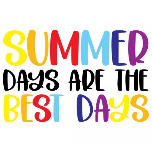 Summer Days Are The Best Days Free SVG Files