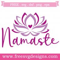 Namaste Free SVG Files
