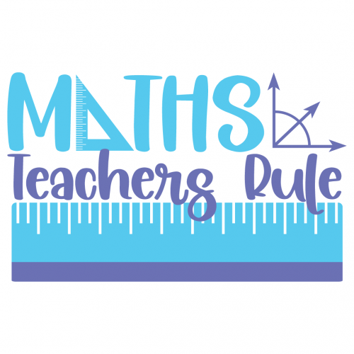 Maths Teachers Rule Free SVG Files