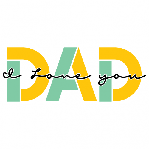 I Love You Dad Free SVG Files