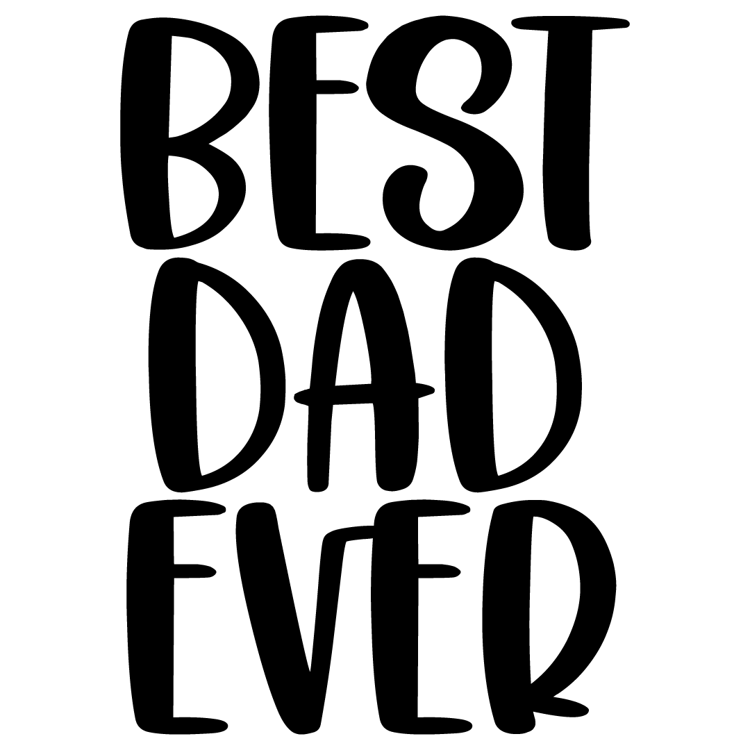 Best Dad Ever Free SVG Files