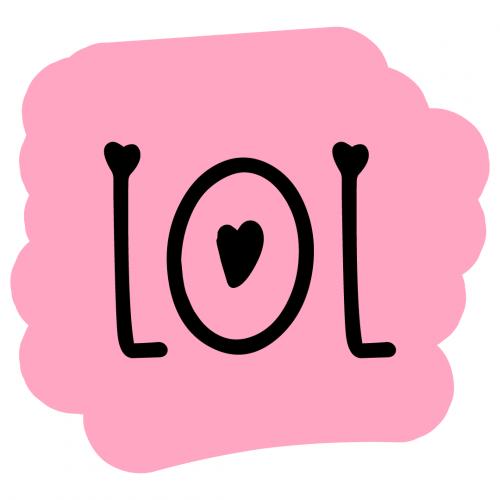 Brush Stroke LOL Free SVG Files