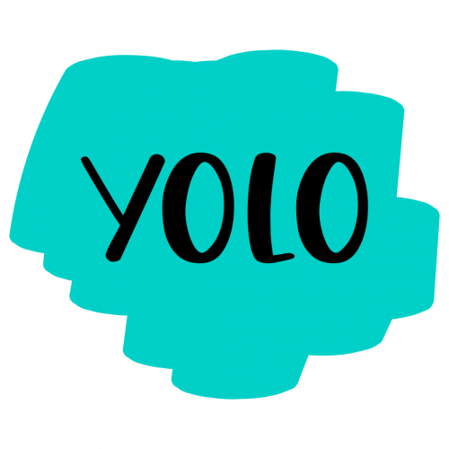 Brush Stroke YOLO Free SVG Files