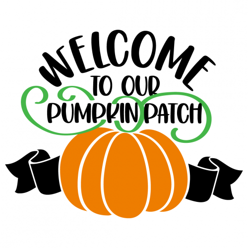 Halloween Fall Welcome To Our Pumpkin Patch Free SVG Files