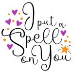 Halloween I Put A Spell On You Quote Free SVG Files