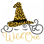 Halloween Wild One Quote Free SVG Files