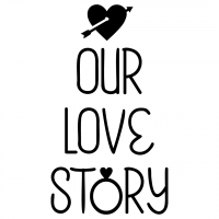 Wedding Our Love Story Free SVG Files
