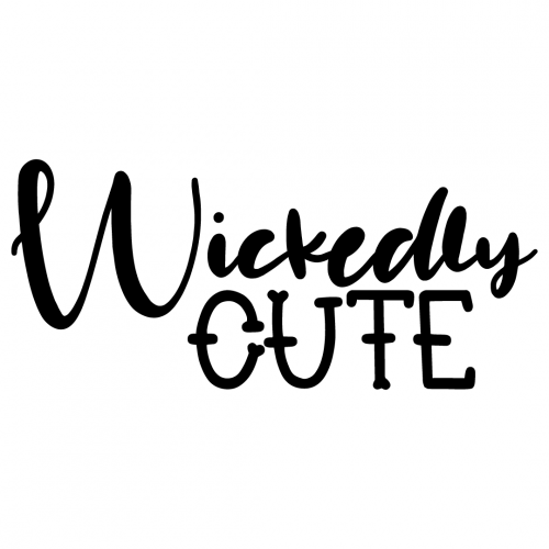Halloween Wickedly Cute Quote Free SVG Files