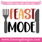 Thanksgiving Feast Mode Free SVG Files