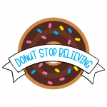 Donut Stop Believing Free SVG Files