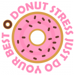 Donut Stress Just Do Your Best Free SVG Files