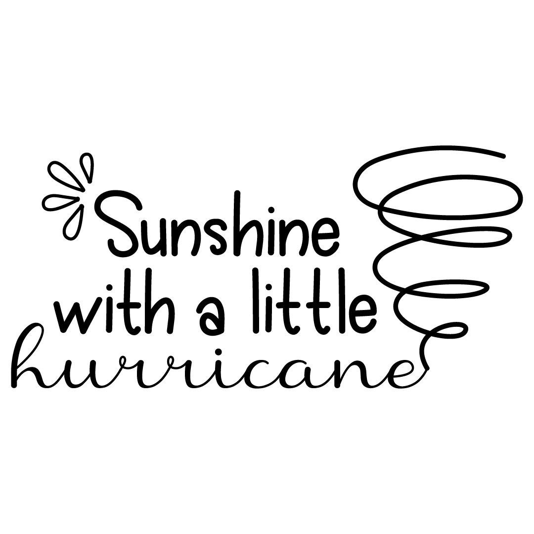 Sunshine With A Little Hurricane Free SVG Files